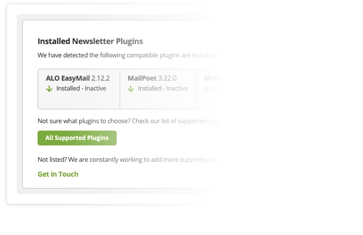 Add as many newsletter plugins as you want—inboxAds is always free!